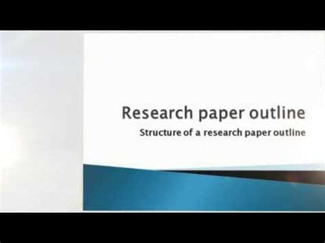 How to Write a Research Paper: 10 Steps Resources